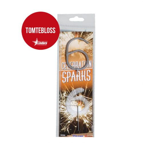 "Celebration Sparks ""6"" (Tomtebloss)"