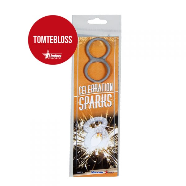 "Celebration Sparks ""8"" (Tomtebloss)"