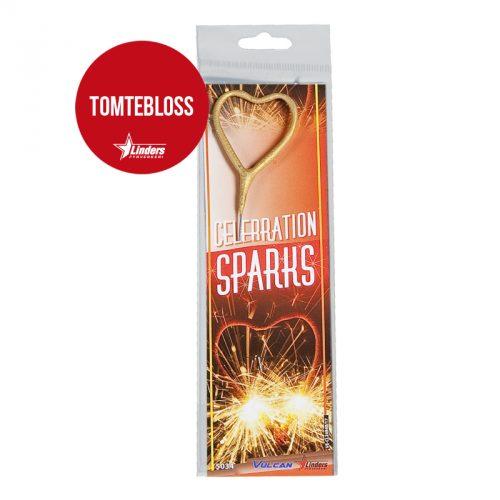 """Celebration Sparks """"Hjärta"""" (Tomtebloss)"""
