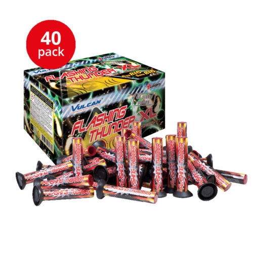 Flashing Thunder 40-pack